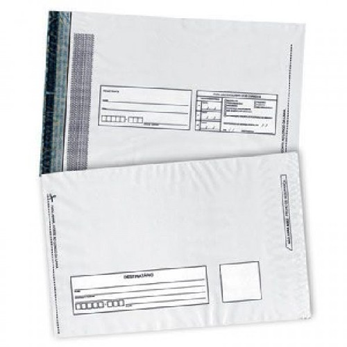envelope coextrusado branco