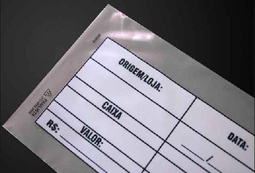 envelope coextrusado preto para caixa