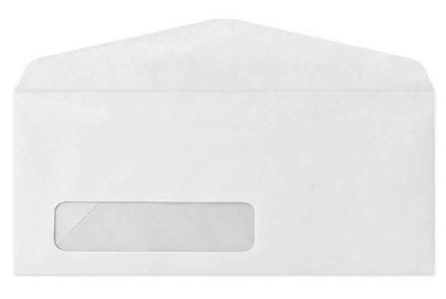 envelope com janela adesivado