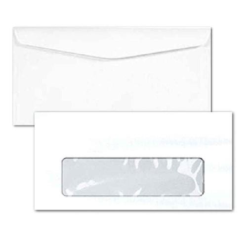 envelope com janela para correspondência